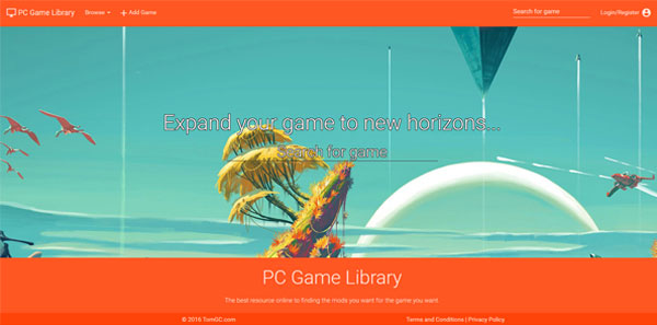 PC Game Library